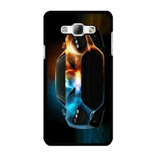 Instyler Digital Printed Back Cover For Samsung Galaxy A8