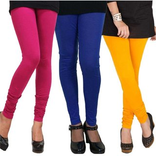 navyatha fashions womens cotton slim fit legging(combos 3 pack)