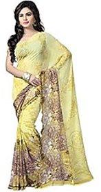 Vaamsi Womens Georgette Printed Saree