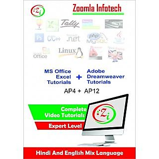 Microsoft Excel 2010-Adobe Dreamweaver Software Learning Video Tutorials  DVD /CD