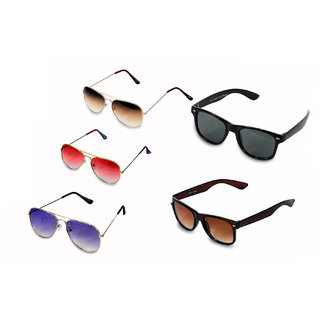 WOMAN  MEN 5 SUNGLASSES COMBO