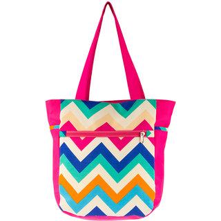 Waanii Womens Tote Bag (Pink) - WNI600