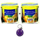 My Shaldan Air Freshener Perfume Lemon+Lemon Flavour Free Smiley Key Chain.