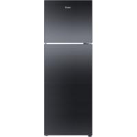 Haier 247 Ltrs Hrf-2674Pkg Double Door Refrigerator Black Glass Door