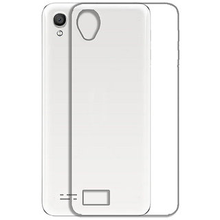 Snaptic Soft Transparent Back Cover for Reliance Jio LYF Wind 1