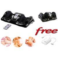 Teledealz Imported Heavy Duty Original Half Leg Massager With Free Samsung Power Bank