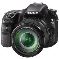 Sony Alpha A58Y 20.1MP Digital SLR Camera With 18-55  55-200mm Lens (SLT-A58Y) And Bag