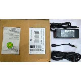 Genuine Original Hp 65W Adapter Charger For Compaq Presario M2001 With Power Cord