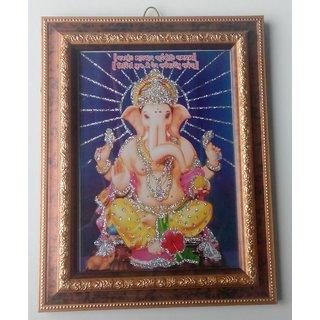 Photo Frame God Ganesh 01