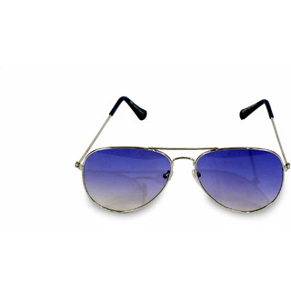 Women  Men Blue Aviator  Sunglass