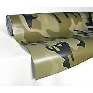 3D Military carbon Fiber Vinyl Wrap Sticker Decal Film Sheet -24 x 100