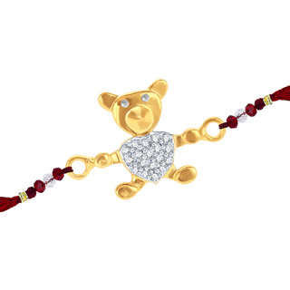 Sukkhi Cubic Zirconia Studded Teddy Bear Rakhi For Kids