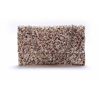 Diwaah!! Hand crafted multi embellished clutch