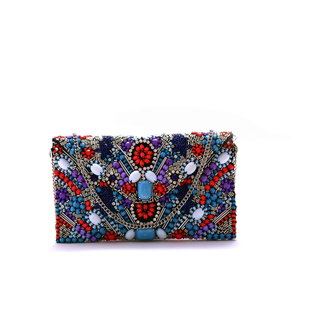 Diwaah!! Hand crafted embroidered beautiful clutch.