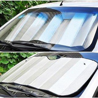 DLT Double Thick Aluminium Sunblock Front/Back Window Sunshade
