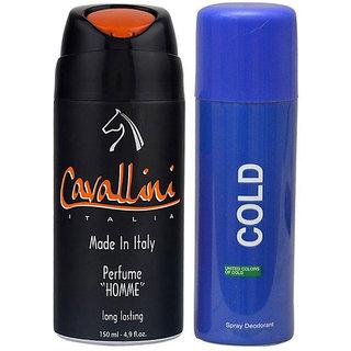 Jack Klein Combo of Cavallini Perfume And UCB Cold Deodorant