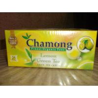 Green Tea Bags - Chamong LEMON GREEN BUYONE GET ONE FREE 25X2=50 TEA BAGS