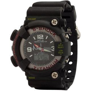Oura Black Dial S-Shock-142 Analog-Digital Sport Watch For Men
