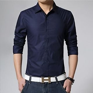 Black Party Wear Mens Shirt: Buy Black Party Wear Mens Shirt ...