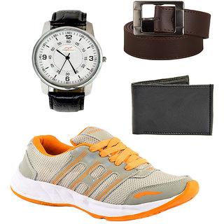 Provogue Men's Orange Sports Shoes