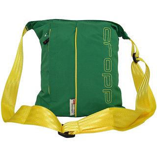 cropp Green womens fabric sling bag emzcroppbarkhagreen