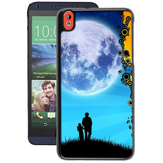 Instyler Digital Printed Back Cover For Htc 826