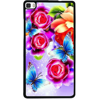 Instyler Digital Printed Back Cover For Huawei P8