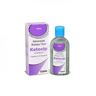 Ketocip anti-dandruff shampoo(set of 4 pcs.) 100 ml each