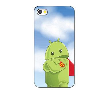 Instyler Premium Digital Printed 3D Back Cover For Apple I Phone 4S