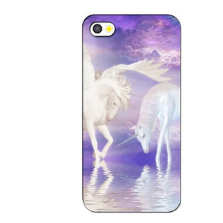 Instyler Premium Digital Printed 3D Back Cover For Apple I Phone 5S