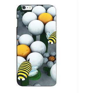 Instyler Premium Digital Printed 3D Back Cover For Apple I Phone 6S