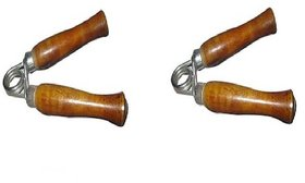 WOODEN HAND GRIPPERS 1 PAIR..!!