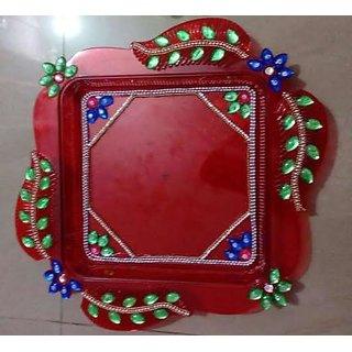 Handmade Designer Puja Thali For Decoration