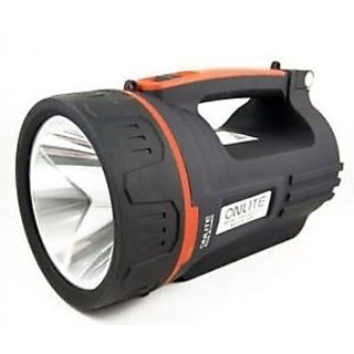 Onlite 15W JUMBO L4001 Rechargeable 2 in1 High Power LED Flash Light, Night Torch