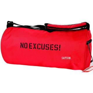 98d0220ee262 Buy saturn Polyester Red Gym Bag Online   ₹599 from ShopClues
