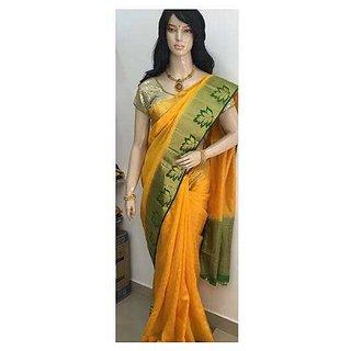 Printed Cotton Silk Saree For Women