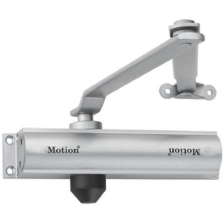 Hydraulic 45kg Automatic Aluminium Door Closer (Silver) - MI200