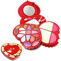 ADS Fashion Colour Heart Shape Make Up Kit COSMKTHRTRD