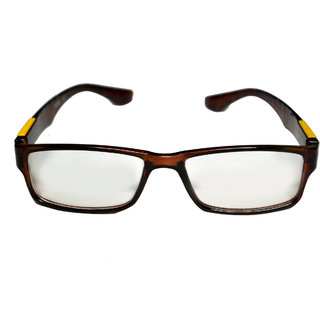 Women  Men  Brown Optical Frame