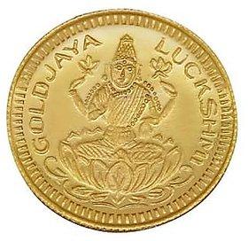 Chahat Jewellers gold 916 2grams lakshmi coin