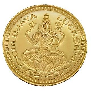 Chahat Jewellers gold 916 2grams lakshmi coin
