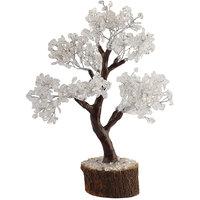 Satyamani Natural Clear Quartz Tree For Peacefull Environment (SMAS5003N)