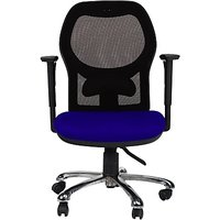 EARTHWOOD Fabric Office Chair         ( Color - Black, Blue)