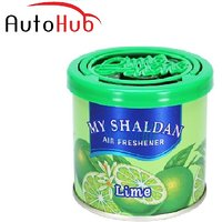 Auto Hub My Shaldan Lime Car Perfume / Air Freshener Use For Car, Home And Office -Lime