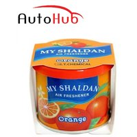 Auto Hub My Shaldan Orange Car Perfume / Air Freshener Use For Car, Home And Office -Orange