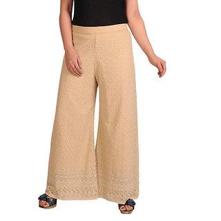 cotton palazzo /women beautiful palazzo pants/cotton palazzo/ palazzo/ PLUS SIZE/ladies cotton chikan palazzo