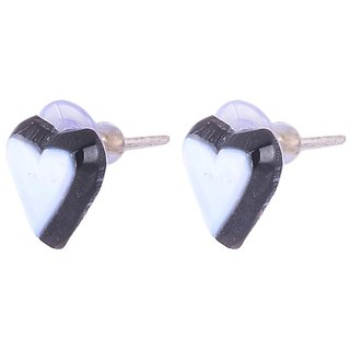 Sheelas White color shell earring for women code no501