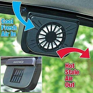Auto Cool Solar Fan