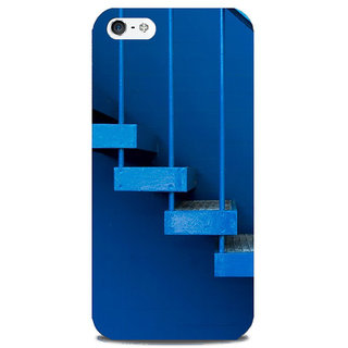Blu Dew iPhone 5/5S Mobile Cover Blue Stairway to Heaven