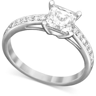 Silvosky 92.5 Silver Platinum Plated Silver Ring SR1011-P